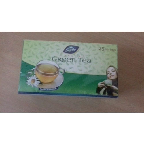 Snello Green Tea, Packaging Type: Box