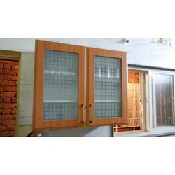 Rectangular Plywood Kitchen Wardrobe