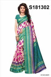Fancy Bhagalpuri Silk Sari