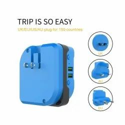 ROQ 3 In 1 Travel Adapter Mini Power Bank 3000mah Bluetooth Speaker