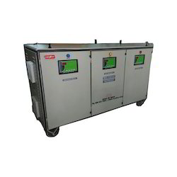 300 Three Phase Servo Automatic Voltage Stabilizer, For Industrial, Capacity: 400