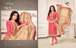 Kayce Over Demand By Kasmeera Cotton Fancy Dress Materials