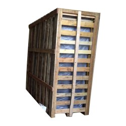 Rectangular Non Edible Wooden Control Panel Packaging Crates, For Industrial, Capacity: 1000-1200 Kg