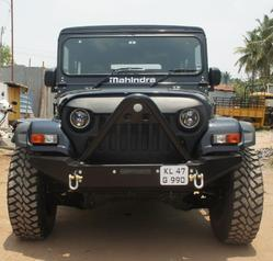Black Fibre Thar Front Grill Angry Face