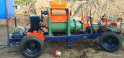 Mobile Type Wire Cut Clay Brick Machine