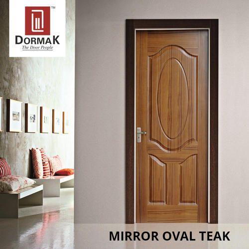 Moulded Teak Wood Veneer Doors