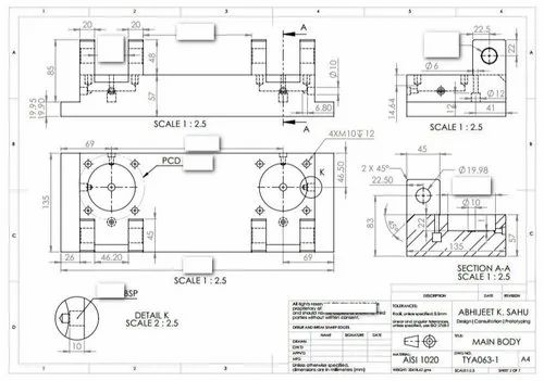 Engineering Drawing Automation Services