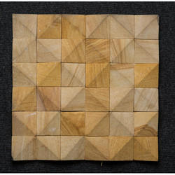 Stone 3D Pattern Natural Stone Mosaic