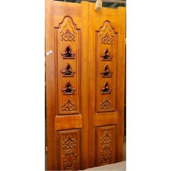 Teak Wood Double Door In Coimbatore Tamil Nadu Get Latest