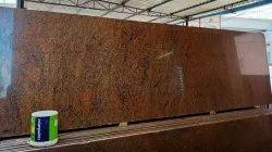 Big Slab Golden Gold Chinta Granite Slabs, For Flooring, Thickness: 15-20 mm