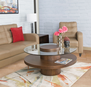 Seattle Coffee Accent Table