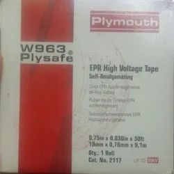 Black W963 PLYSAFE EPR High Voltage Tape, Size: 19mm X 9.15 Meter X 0.76mm, Packaging Type: Corrugated Box