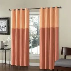 52 x 60 inch Silk Weave China Red Blackout Curtain