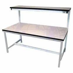 Mild Steel Grey Laboratory Table