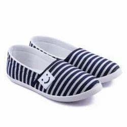 Asian Blue, White AMY-91 Women Canvas Shoes