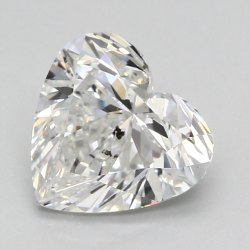 1.00 Ct Gia Certified Heart Cut Natural Diamond G SI2 VG VG N