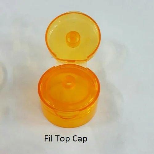 Orange Flip Top Plastic Cap Rs 1 10 Piece Kamyas