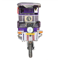 Purple Battery Electric Rickshaw