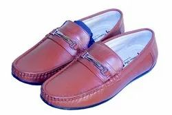 Cushion Step Male Mens Designer Brown Leather Shoes