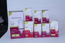 LED Plain Packing for Bulb 9 Watt