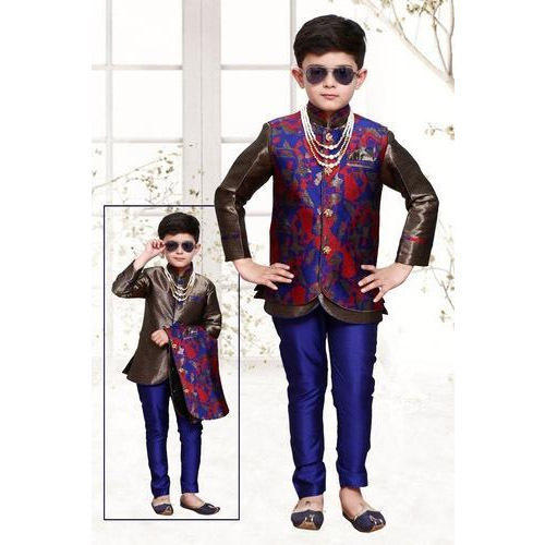 Kids Boys Trendy Wedding Sherwani