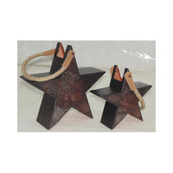 Star Shape Hanging Lantern