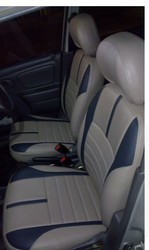 Velvet Black Seat Covers