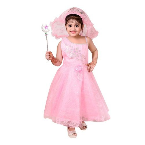 Ahhaaaas Baby Girls Angel Dress बब गरल डरस