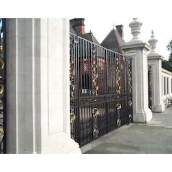 Black And Blue Iron Gate