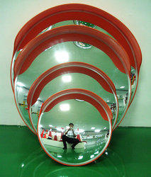 Unbreakable Convex Mirror