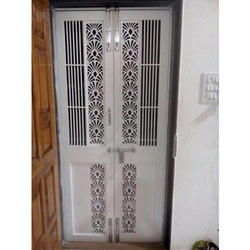 Ms Safety Door Mild Steel Safety Door Latest Price