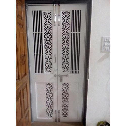 Ms White Safety Door Rs 500 Square Feet Merasha Shapers