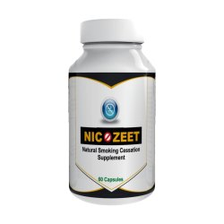 Nicozeet Natural Smoking Cessation Supplement Capsule, Packaging Type: Plastic Bottle