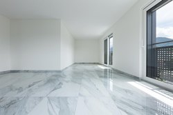 White Gloss Marble Flooring