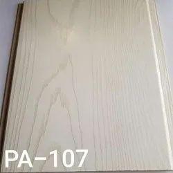 White PVC Modern Wall Panel