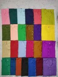 Casual Mens Plain Cotton Kurta, Size/Dimension: 34-44