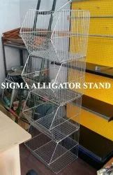 Alligator Display Rack