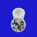 Handmade White Marble Box Stone