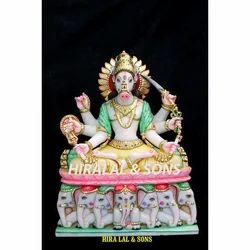 Marble Manibhadra Murti
