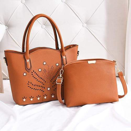 Ladies Casual Wear Brown Designer Handbag d380408240a51