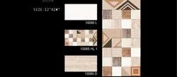 Florida Ceramic 12X24 Wall Tiles, Thickness: 5-10 mm, Size: 30  * 60 (cm)