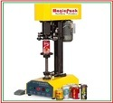 Semi Automatic Jar Capping And Sealing Machine / Tin Can Sealer