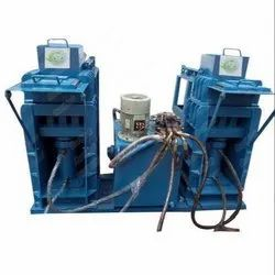 Twin Hydraulic Semi. Auto. Fly Ash Bricks & Block Machine