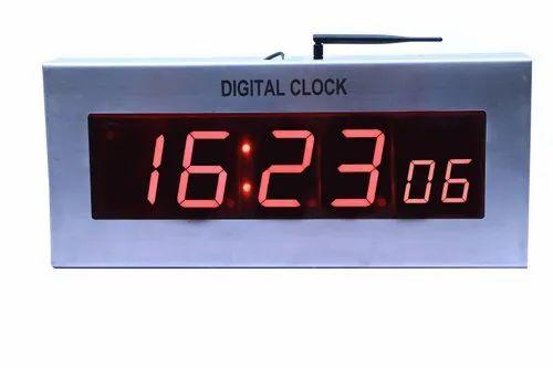 Cybernetics Digital Clock Wireless Synchronized Clocks, Screen Size: 4  inch, Rs 18000 /piece | ID: 20283265733