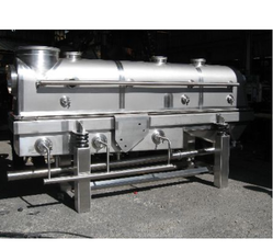 Stainless Steel, Aluminium Vibratory Fluid Bed Dryer, 220 V, Capacity: 500-700 Kg/Batch