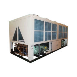 Steel Single Phase Centralized AC Chiller, Semi-automatic