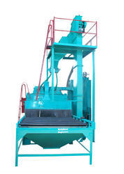 Tunnel Type Shot Blasting Machine