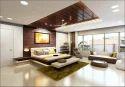 Modular Kitchen & Wardrobe Residential Interior Designing Service, Work Provided: Wood Work & Furniture, 350 Square Feet