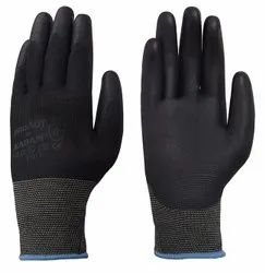 Karam Hand Gloves with Black PU Coating