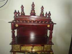 Sheesham Wooden Brown Temple
